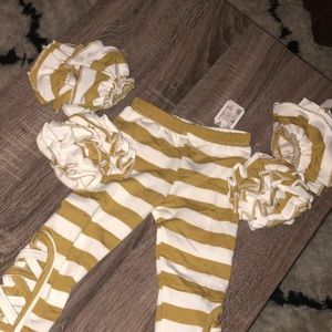 Cute Pants with Ruffle Attachments